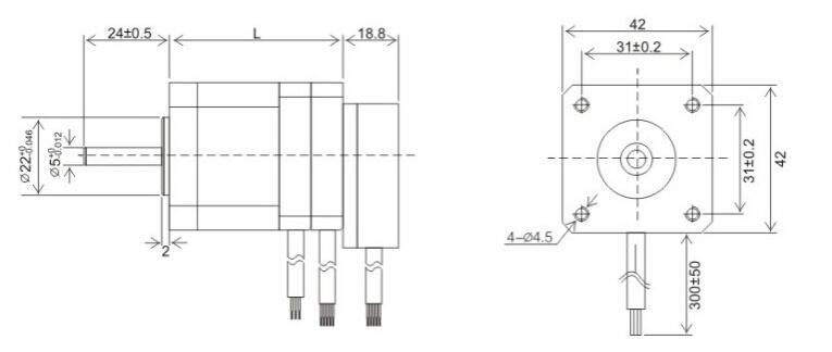 智慧工业 工控系统 电控元件 运动与控制设备 > 直流无刷伺服电机42js